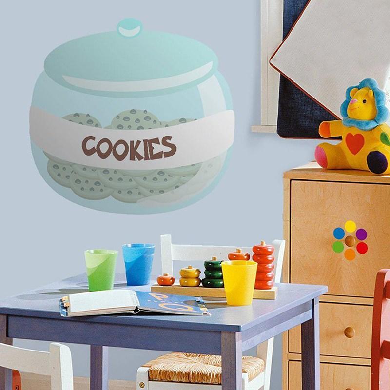 Kinderzimmer Wandtattoo: Keksdose