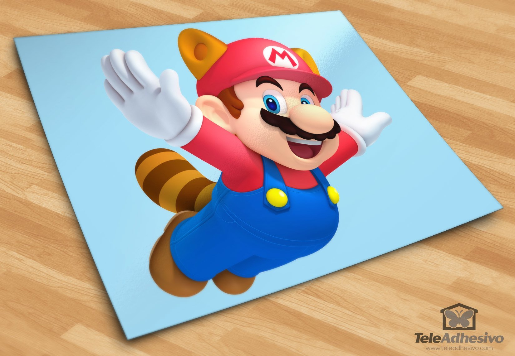 Kinderzimmer Wandtattoo: Super Mario Bross 3