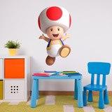 Kinderzimmer Wandtattoo: Toad 3