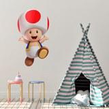 Kinderzimmer Wandtattoo: Toad 4