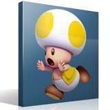 Kinderzimmer Wandtattoo: Gelb Toad 4