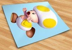 Kinderzimmer Wandtattoo: Gelb Toad 5