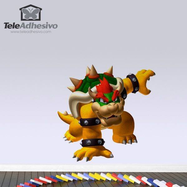 Kinderzimmer Wandtattoo: Bowser