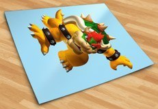 Kinderzimmer Wandtattoo: Bowser 5