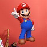 Kinderzimmer Wandtattoo: Mario Bros 3 3