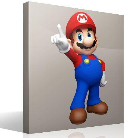 Kinderzimmer Wandtattoo: Mario Bros 3
