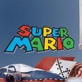 Kinderzimmer Wandtattoo: Super Mario Game 3