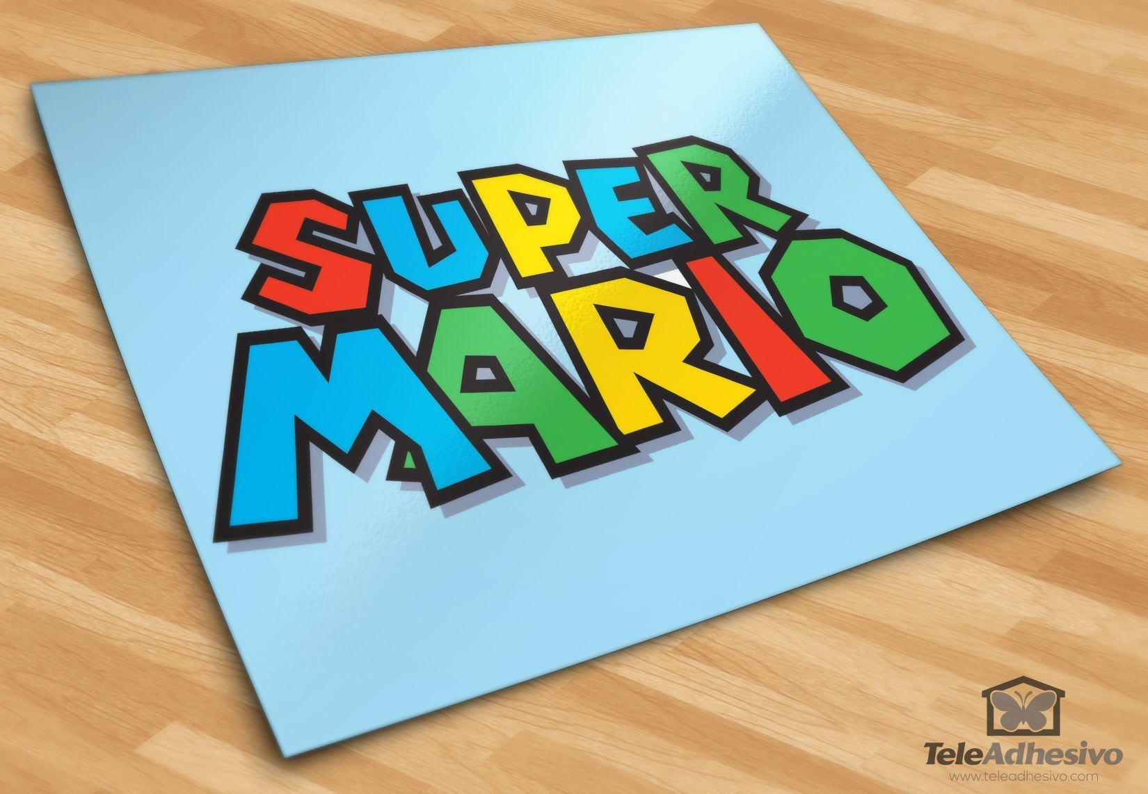 Kinderzimmer Wandtattoo: Super Mario Game