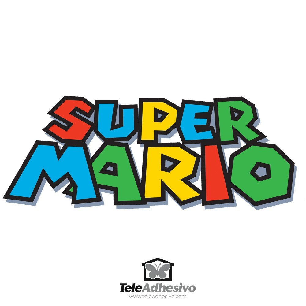 kinderzimmer wandtattoo super mario game. Black Bedroom Furniture Sets. Home Design Ideas