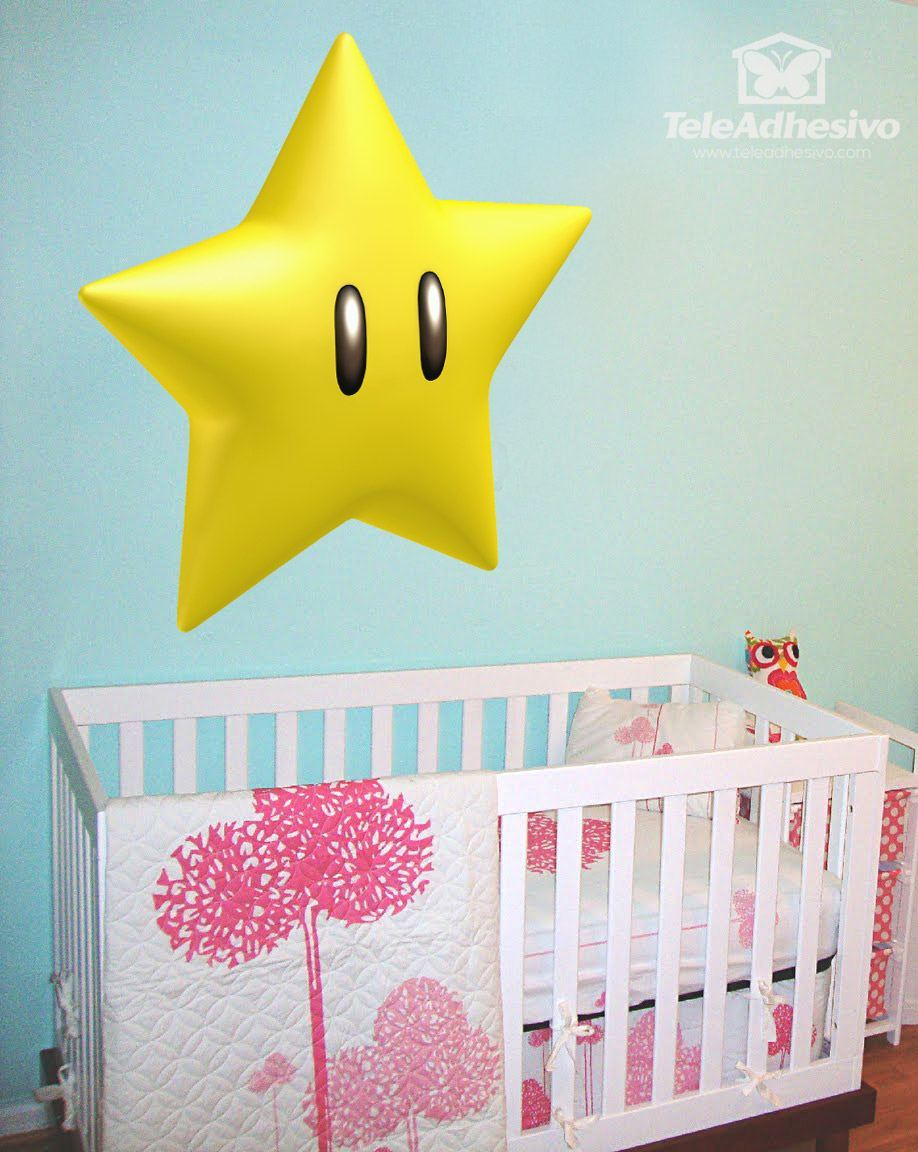Kinderzimmer Wandtattoo: star
