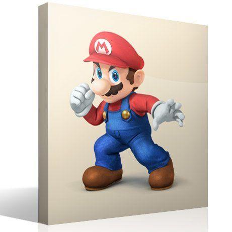 Kinderzimmer Wandtattoo: Super Mario Faust