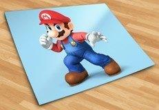 Kinderzimmer Wandtattoo: Super Mario Faust 5