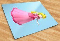 Kinderzimmer Wandtattoo: Princess Peach 2 5