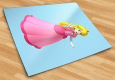 Kinderzimmer Wandtattoo: Princess Peach 5