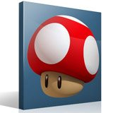 Kinderzimmer Wandtattoo: Mario mushroom 4