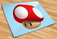 Kinderzimmer Wandtattoo: Mario mushroom 5