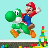 Kinderzimmer Wandtattoo: Mario und Yoshi 3