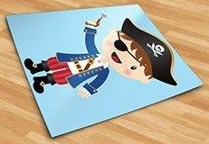 Kinderzimmer Wandtattoo: Die kleinen Piraten Pistole 3