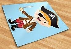 Kinderzimmer Wandtattoo: Die kleinen Piraten Schwert 5