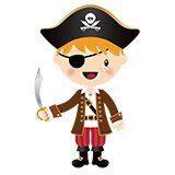 Kinderzimmer Wandtattoo: Die kleinen Piraten Schwert 6