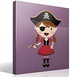 Kinderzimmer Wandtattoo: Der kleine Pirat Gewehr 2