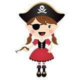 Kinderzimmer Wandtattoo: Der kleine Pirat Gewehr 4