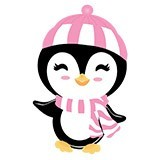 Kinderzimmer Wandtattoo: Pinguino in inverno 6