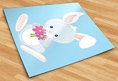 Kinderzimmer Wandtattoo: Wald kaninchen 5