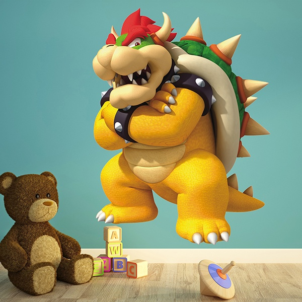 Kinderzimmer Wandtattoo: Bowser 2