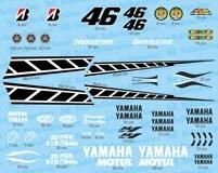 Aufkleber: Kit Yamaha 50th Anniversary Laguna Seca 2005  4