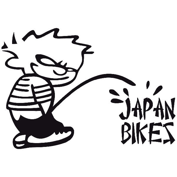 Aufkleber: Bad Boy Japan Bikes