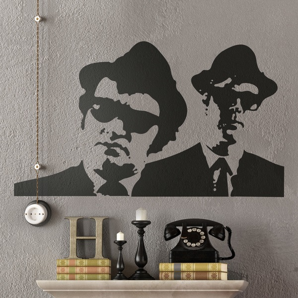 Wandtattoos: Blues Brothers