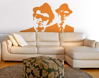 Wandtattoos: Blues Brothers 3