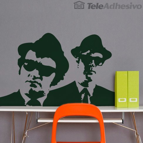 Wandtattoos: The Blues Brothers