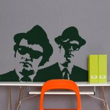 Wandtattoos: Blues Brothers 4