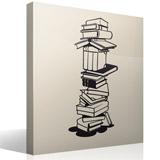 Wandtattoos: Bücher 3