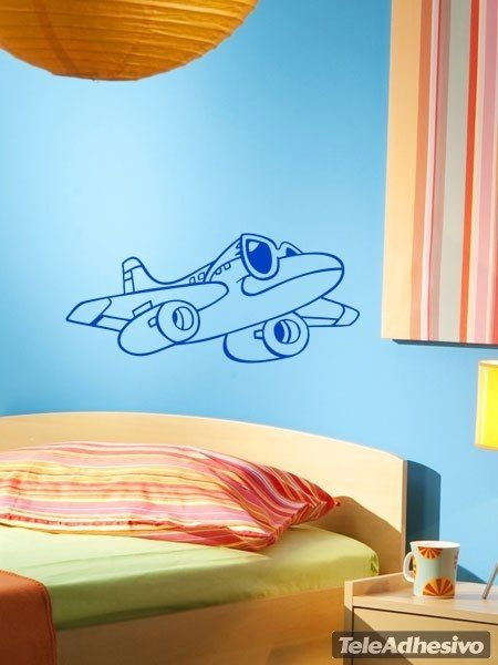 Kinderzimmer Wandtattoo: Avion Gläser