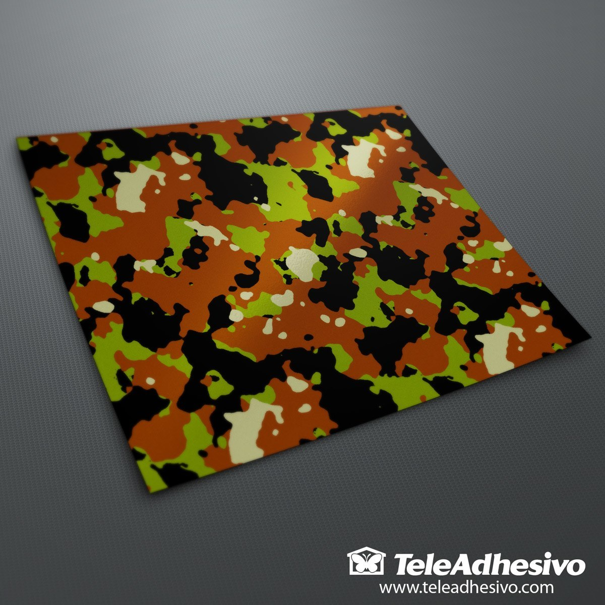 Aufkleber: Camouflage vinyl