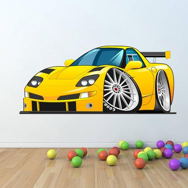 Cartoon car - Wandtattoo cars ...