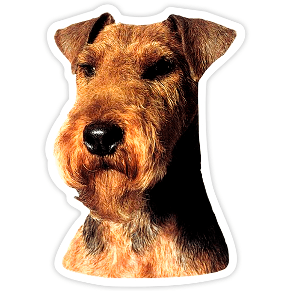 Aufkleber: Welsh Terrier