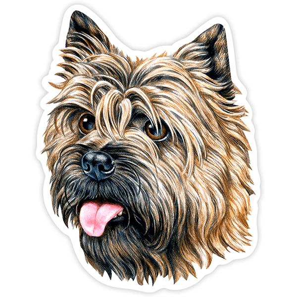 Aufkleber: Cairn Terrier
