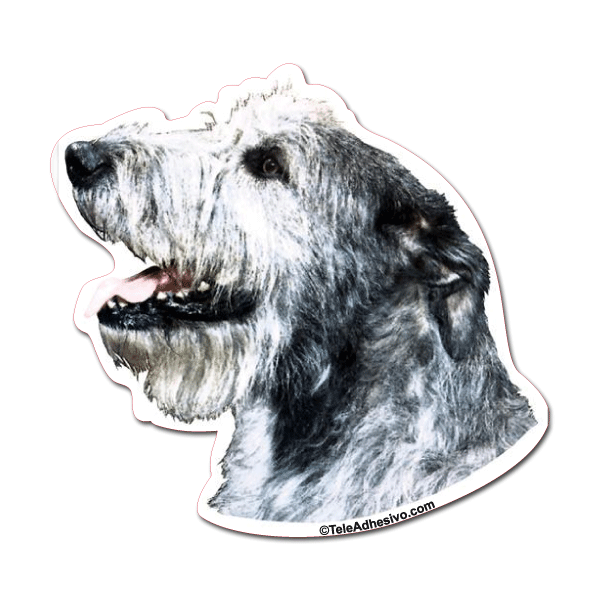 Aufkleber: Irish Wolfhound