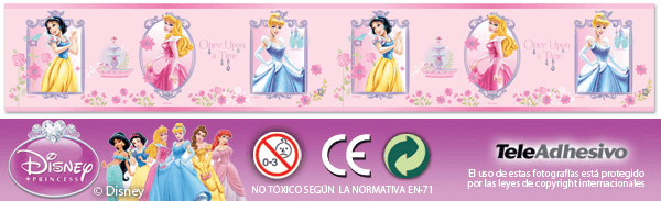 Kinderzimmer Wandtattoo: Prinzessin Valance