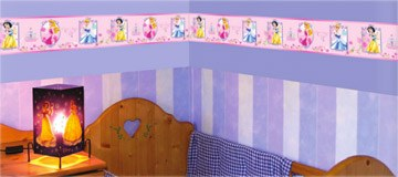 Kinderzimmer Wandtattoo: Prinzessin Valance 1