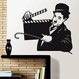 Wandtattoos: Chaplin 1