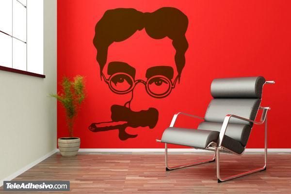 Wandtattoos: Groucho