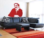Wandtattoos: Groucho 2 4
