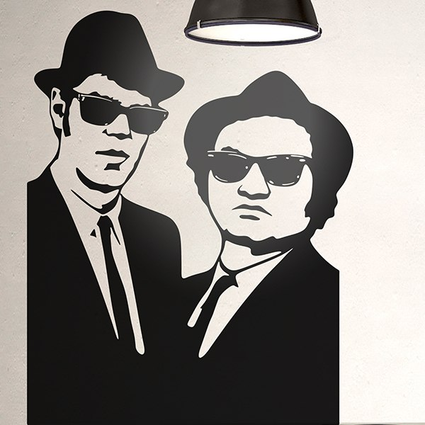 Wandtattoos: Blues Brothers 2