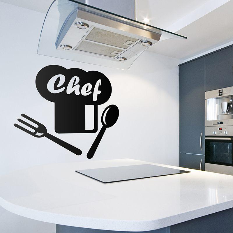 Wandtattoos: Chef