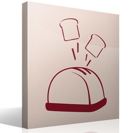 Wandtattoos: Toaster